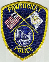 Pawtucket Police Patch (RI)