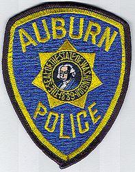 Auburn Police Patch (WA)
