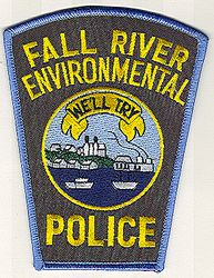 Falls River Environmental Police Patch (MA)