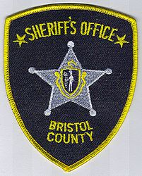 Sheriff: MA, Bristol Co. Sheriffs Office Patch (star)