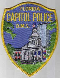 Capitol Police D.M.S. Patch (FL)