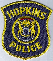 Hopkins Police Patch (MI)