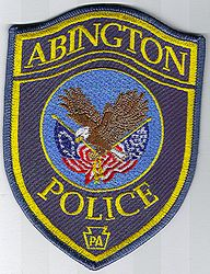 Abington Police Patch (yellow letters) (PA)
