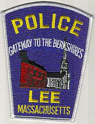 Lee Police Patch (Berkshires)(MA)