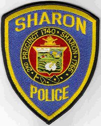 Sharon Police Patch (MA)