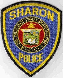 Sharon Police Patch (MA)