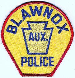 Blawnox Aux. Police Patch (PA)