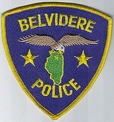 Belvidere Police Patch (IL)