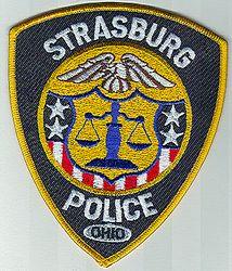 Strasburg Police Patch (OH)