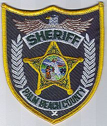 Sheriff: FL, Palm Beach Co. Sheriff Patch (star)