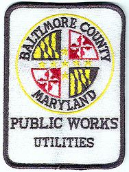 Baltimore Co. Public Works Utilities Patch (MD)
