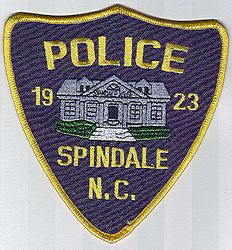 Spindale Police Patch (NC)