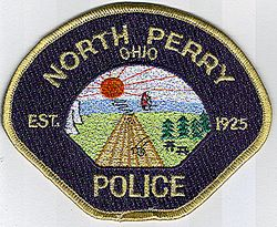 North Perry 1925 Police Patch (OH)