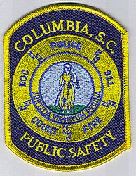 Columbia Police -Public Safety Patch (SC)