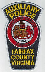 Fairfax Co. Aux. Police Patch (VA)