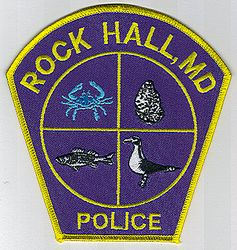 Rock Hall Police Patch (MD)