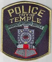 Temple City Police Patch (GA)
