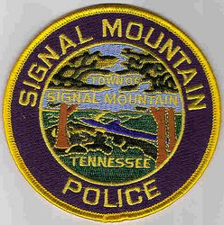 Signal Mountain Police Patch (TN)