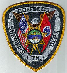 Sheriff: TN. Coffee Co. Sheriffs Dept. Patch