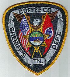 Sheriff: TN. Coffee Co. Sheriffs Dept. Patch