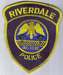 Riverdale Police Patch (IL)