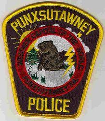 Punxsutawney Police Patch (PA)