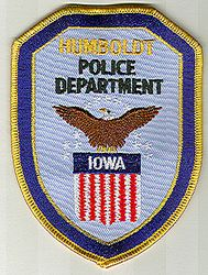 Humboldt Police Patch (IA)