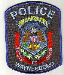 Waynesboro Police Patch (MS)