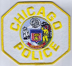 Chicago Police Patch (yellow letters/edge,twill) (IL)