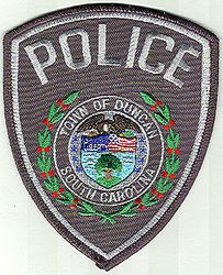 Duncan Police Patch (SC)