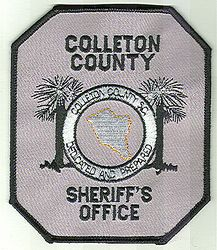 Sheriff: SC. Colleton Co. Sheriffs Office Patch