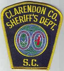 Sheriff: SC. Clarendon Co. Sheriffs Dept. Patch