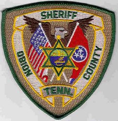 Sheriff: TN. Obion Co. Sheriff Patch