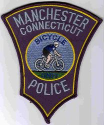 Manchester Bicycle Unit Police Patch (CT)