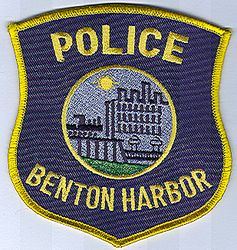 Benton Harbor Police Patch (MI)
