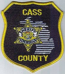 Sheriff: MI, Cass Co. Sheriff Patch