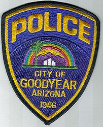 Goodyear City Police Patch (rainbow)(AZ)