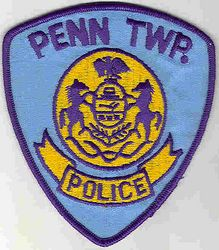 Penn Twp. Police Patch (state seal) (PA)