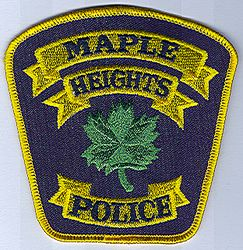 Maple Heights Police Patch (OH)