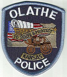 Olathe Police Patch (KS)