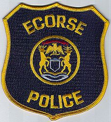 Ecorse Police Patch (MI)