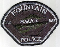 Fountain SWAT Police Patch (CO)