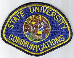 School: CA, State University Communications Patch