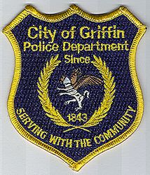 Griffin City 1843 Police Patch (GA)