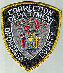 Onondaga Co. Correction Dept. Response Team Patch (NY)