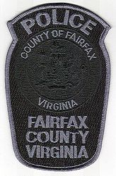 Fairfax Co. SWAT Police Patch (VA)