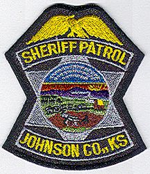 Sheriff: KS, Johnson Co. Sheriff Patrol Patch (cap size)