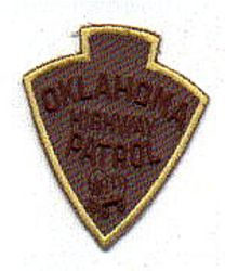 State: OK, Highway Patrol Patch (cap size)