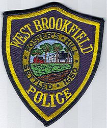 West Brookfield Police Patch (MA)