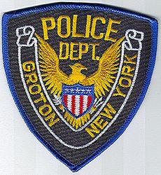 Groton Police Patch (NY)